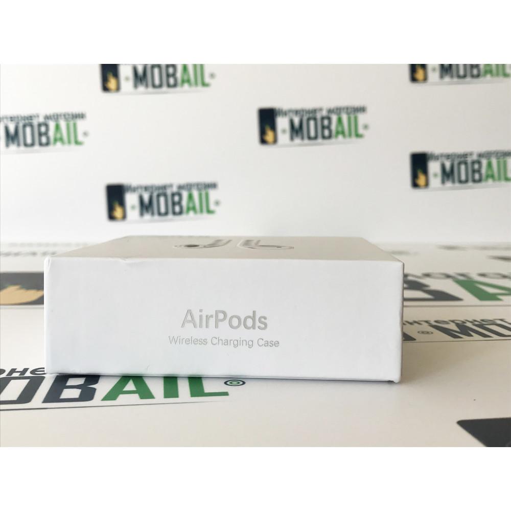 Копия наушников Apple Airpods 2 - (с Возможностью беспроводной зарядки, Люкс версия)