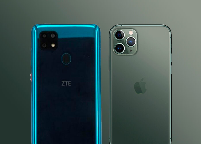 Как у iPhone 11: ZTE выпустили новинку с повышенной автономностью и дизайном, повторяющим флагман
